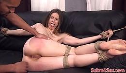 A Stella Cox le gusta el sado y ser follada a los bestia