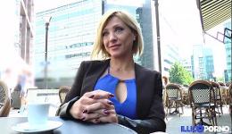 Madura francesa tiene sexo anal en un hotel en su primera cita